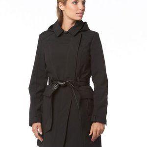 Sebby Asymmetrical Softshell Anorak Jacket Sz L